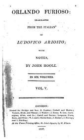 Orlando Furioso: Volume 5