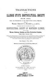 Transactions of the Illinois State Horticultural Society and the Illinois Fruit Council for the Year ...: Volume 14