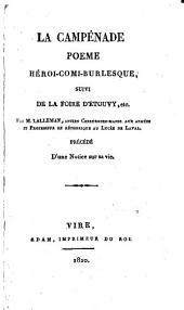 La campênade: poeme héroi-comi-burlesque, suivi de la foire d'Etouvy, etc
