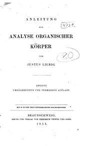 Anleitung zur analyse organischer körper