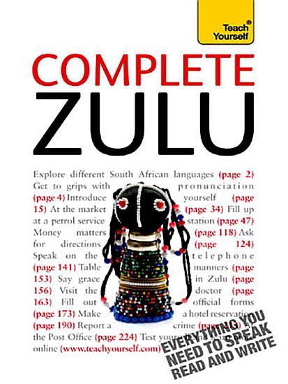 Complete Zulu Beginner to Intermediate Book and Audio Course PDF