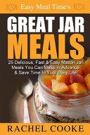 Great Jar Meals