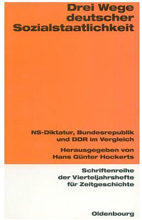 Drei Wege deutscher Sozialstaatlichkeit PDF