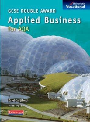 Gcse Applied Business Aqa PDF