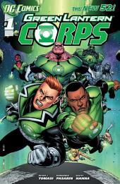 Green Lantern Corps (2011-) #1