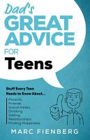 Dad s Great Advice for Teens PDF