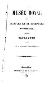 Catalogue publié par la commission administrative