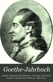 Goethe-Jahrbuch: Band 12