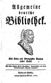 Allgemeine deutsche Bibliothek: Band 77
