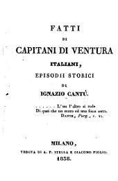Fatti Di Capitani Di Ventura Italiani, Episodii Storici: 24