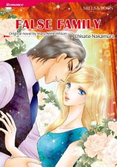 FALSE FAMILY: Mills & Boon Comics
