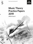 Music Theory Practice Papers 2019  ABRSM Grade 5