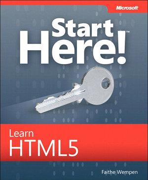 Start Here  Learn HTML5 PDF
