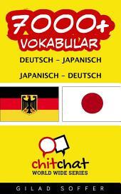 7000+ Deutsch - Japanisch Japanisch - Deutsch Vokabular
