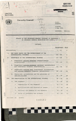 Report of the Secretary General Pursuant to Paragraph 2 of Security Council Resolution 808  1993   PDF