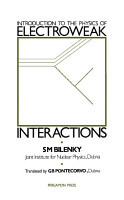 Introduction to the Physics of Electroweak Interactions PDF