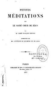 Peties méditations sur le Sacré-Coeur de Jésus