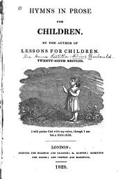 Hymns in Prose, for Children