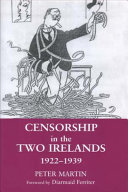 Censorship in the Two Irelands  1922 39 PDF