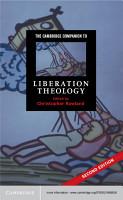 The Cambridge Companion to Liberation Theology PDF