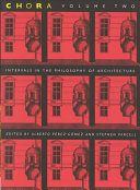 Intervals in the Philosophy of Architecture