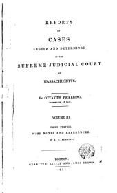 Reports of Cases Argued and Determined in the Supreme Judicial Court of the Commonwealth of Massachusetts: 1825-26, Volume 20