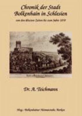 Chronik der Stadt Bolkenhain in Schlesien PDF