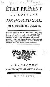 État présent du royaume de Portugal