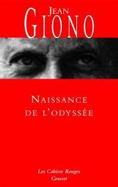 Naissance de l'Odyssée: (*)