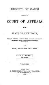 Reports of Cases Decided in the Court of Appeals of the State of New York: Volume 68