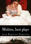 Moli  re  Best Plays PDF
