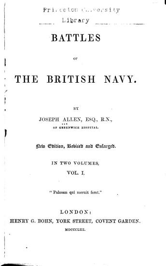 Battles of the British Navy PDF