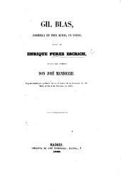 Gil Blas, zarzuela en tres actos, en verso, etc