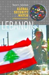 Global Security Watch-Lebanon: A Reference Handbook: A Reference Handbook