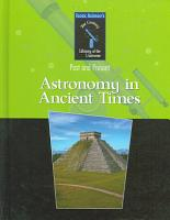 Astronomy in Ancient Times PDF