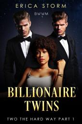 Billionaire Twins #1: Two The Hard Way (BWWM)