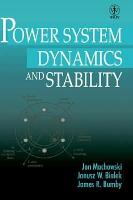 Power System Dynamics and Stability PDF