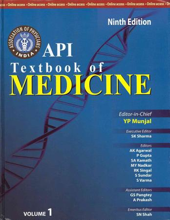 API Textbook of Medicine  Ninth Edition  Two Volume Set PDF