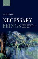 Necessary Beings PDF