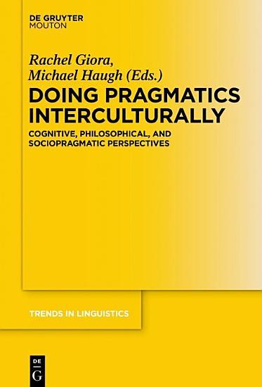 Doing Pragmatics Interculturally PDF