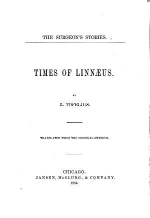 The Surgeon s Stories  Times of Linnaeus