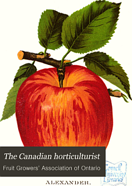The Canadian Horticulturist PDF