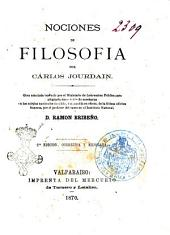 Nociones de filosofia por Cárlos Jourdain