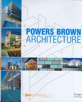 Powers Brown Architecture PDF