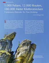 Frankenjura, Eldorado für Free Climbing: ECHT Oberfranken - Ausgabe 25