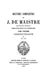 Oeuvres complètes: contenant ses oeuvres posthumes et toute sa correspondance inédite, Volume13
