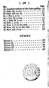 """The Psalms of David in Metre, Etc. [With """"Translations and Paraphrases, in Verse, of Several Passages of Sacred Scripture.""""]"""