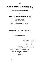 Du catholicisme, du protestantisme, et de la philosophie en France