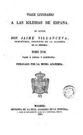 Viage [sic] literario a las iglesias de España, 17