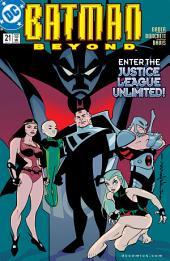 Batman Beyond (1999-) #21